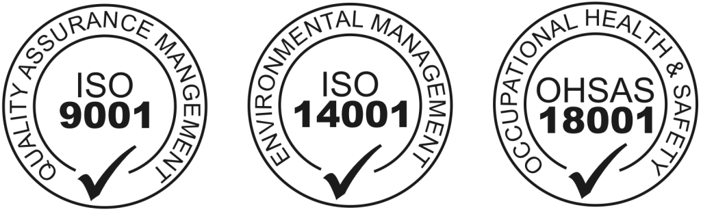 ohsas 18001 iso 9000 iso 14000 iso 14001 iso 9001 certified